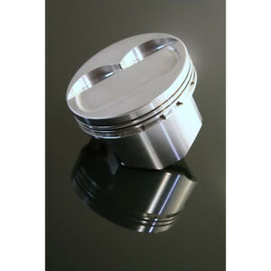 Dss Racing Piston Set 8177sx 4155 Sx 4 155 Bore Forged Dish For Chevy 400 Sbc