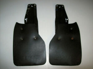 1989 1995 Toyota 4wd Hilux Pickup Pick Up Truck Rear Mud Flaps W Brackets