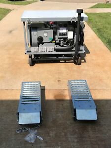 Onan 4 0 Rv Genset Generator With Remote Start Folding Ramps