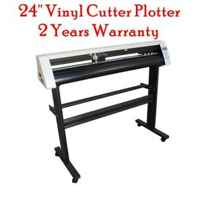 24 Vinyl Sign Cutter Contour Cut Function Sign Stickers Cutter Plotter Machine
