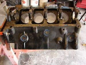1954 Chrysler Marine 331 Hemi Engine Block Mopar 1330129