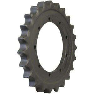 Prowler Takeuchi Tb138fr Sprocket Part Number 04710 00600 9 Hole 23 Teeth