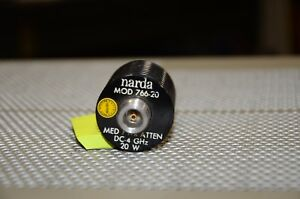 Narda 4 Ghz 20 Watt 766 20 Medium Power Attenuator