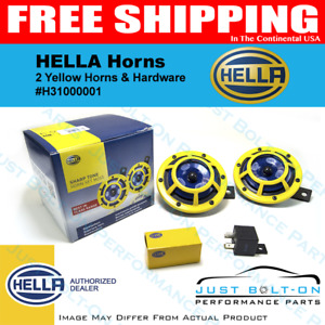 Hella 114db Extremely Loud Street Legal 12v Sharptone Dual Horn H31000001