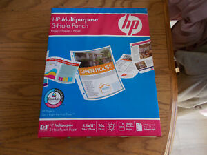 Hp Multipurpose 3 hole Punch Paper 8 5x11 20lb 500 Sheets Brand New Sealed