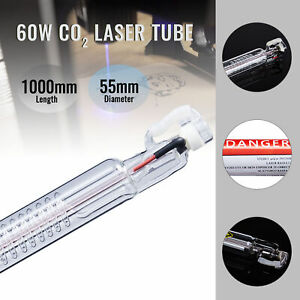 Hot Premium New 60w Co2 Laser Tube Fits Laser Engraver Cutting Machine 100