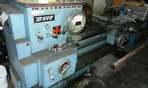 Lodge Shipley Metal Lathe 22 X 72 Variable Speed 2 Threw Hole Wvs