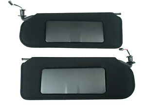 1997 2004 Corvette Black Sun Visor Sun Shade Pair C5 Defective See Listing