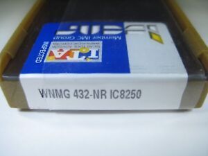 Factory Pack Iscar Wnmg 432 nr Ic8250 Wnmg 080408 nr Turning Carbide Inserts