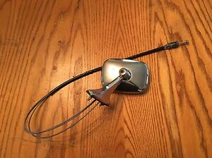 Lincoln Ford Mercury Driver Side Mirror Vintage Oem