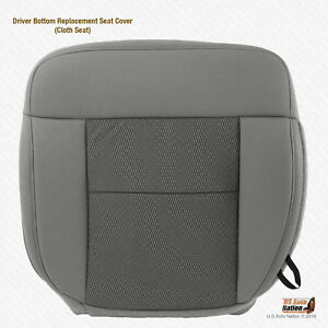 2004 2005 2006 Ford F 150 Xlt F150 Driver Side Bottom Cloth Seat Cover Gray