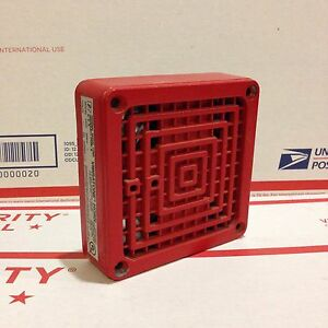 Federal Signal Vibratone 450d Series C2 Fire Alarm Horn Great Condition