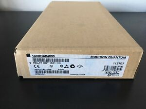140dra84000 New Sealed Modicon Relay Out 140 dra 840 00