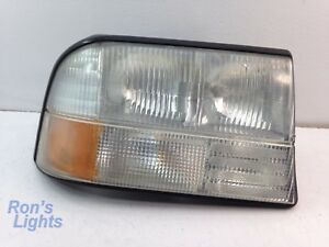 1998 2001 Gmc Jimmy etc Headlight W o Fog Light Oem Rh pass Pre owned