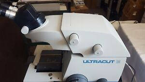 Reichert jung ultracut e Stereo Zoom Ultramicrotome Stereo Star Good Condition