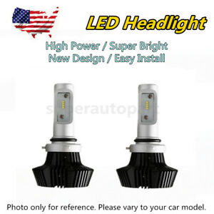 9006 8000lm Philips Leds Headlight Low Beam Conversion Kit For Niss