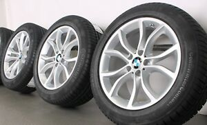 4 Bmw Winter Wheels Styling 594 Set Of Tyres X6 F16 Rdci 255 50 R19 107v S New