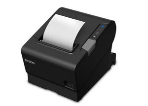 Epson T88vi Thermal Pos Printer Usb Lan Serial Auto Cutter C31ce94061 New