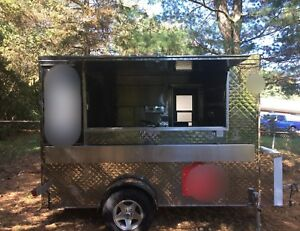 Food Trailer Concession Stainless Steel Ready To Sell