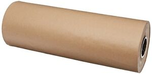Kraft Paper Sheet Roll Packaging Wrap Commercial Packing Shipping Mailing Brown