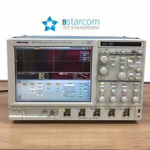 Tektronix Dpo7104 Oscilloscope 1 Ghz 20 Gs s 4 Ch