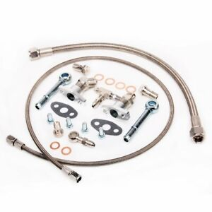 Tritdt Turbo Oil Water Line Kit Garrett Ball Bearing Gt25r Gt28r Gt30r Gt35r