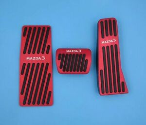For Mazda 3 2020 Car Parts Auto Accelerator Pedal Brake Pads Rest Footrest Blue