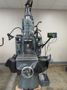 Moore 2 Jig Grinder With 2 Axis Digital Readout