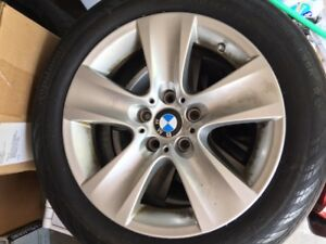 Bmw Factory 17 Inch Wheels And Tires