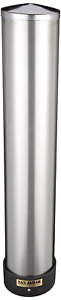 Adjustable Stainless Steel Wall Mount Cup Dispenser 12 24 Oz Plastic Foam Cups