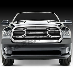 13 17 Dodge Ram 1500 Big Horn Chrome Front Packaged Grille replacement Shell