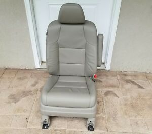 14 17 Honda Odyssey Front Beige Leather Right Passenger Seat W Airbag Oem