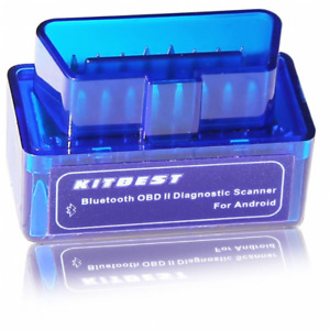 Kitbest Mini Bluetooth Obd Scan Tool Obd2 Obdii Scanner Adapter Automotive Check
