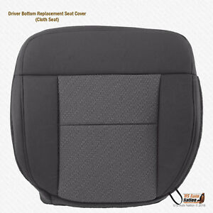 2004 2005 2006 Ford F 150 Xlt F150 driver Side Bottom Cloth Seat Cover Dk Gray
