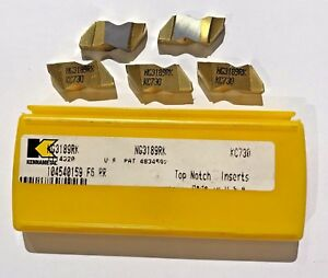 Kennametal Carbide Insert Ng3189rk Kc730 Qty 5 New