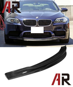 Rk Style Carbon Fiber Front Bumper Add Lip For 2012 2016 Bmw F10 M5 Only