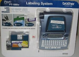1 X Brother P touch Labeling System Pt 1880w