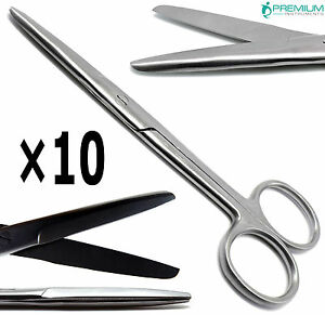 10 Mayo Scissors Straight 5 5 Blunt blunt Surgical Operating Instruments