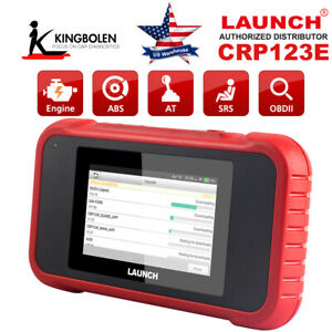 Launch Obd2 Code Reader Crp123e Diagnostic Tool Read Engine Abs Srs Transmission
