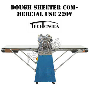 Dough Sheeter Roller Pizza Cake Bread Pastry Machine Commercial 220v Electric