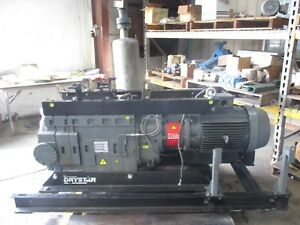 Edwards Drystar Vacuum Pump W 30hp Motor 1020831j Pump Model a70574908xs Used
