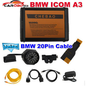 Bmw Icom A3 Professional Diagnostic Tool Hardware V1 38 Get Free Bmw 20pin Cable