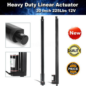 Heavy Duty 30 30 Inch Linear Actuator Stroke 225 Lb Pound Max Lift 12v Volt Dc