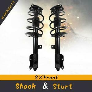 Strut Spring Assembly Front Pair Set Of 2 For 07 12 Jeep Patriot Dodge Caliber