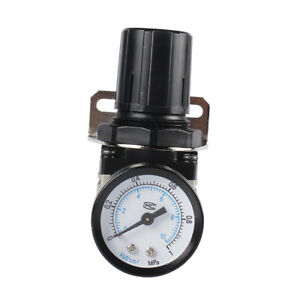 1pcs Ar5000 10 Air Control Compressor Pressure Relief Regulator Valve Gauge