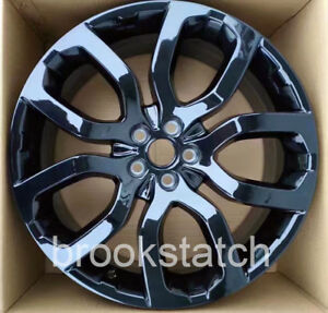 20 2017 Evoque Style Gloss Black Wheel Rims Fits Discovery Range Rover 5x120