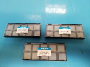 Spg 632 C5 Tracker uncoated Solid Carbide Inserts lot Of 30pcs New