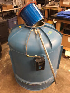 Cryogenic Tank 150 Liter Vapor Type With Stainless Steel Feeder Hose