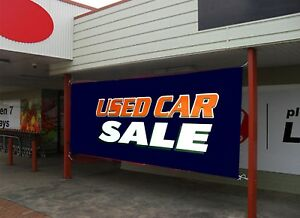 Used Car Sale Business Advertising Banners Flags Outdoor Sign Sz 18x48 24x72 Inc