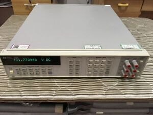 Hp Keysight Agilent 3458a Digit Digital Multimeter Tested